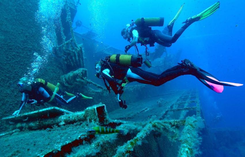 Zenobia Wreck in Larnaca